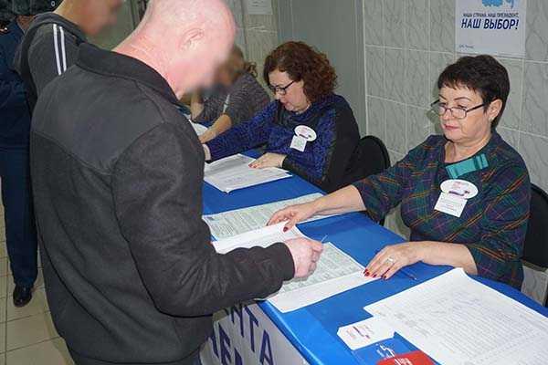 В хакасском следственном изоляторе проголосовали почти пятьсот человек